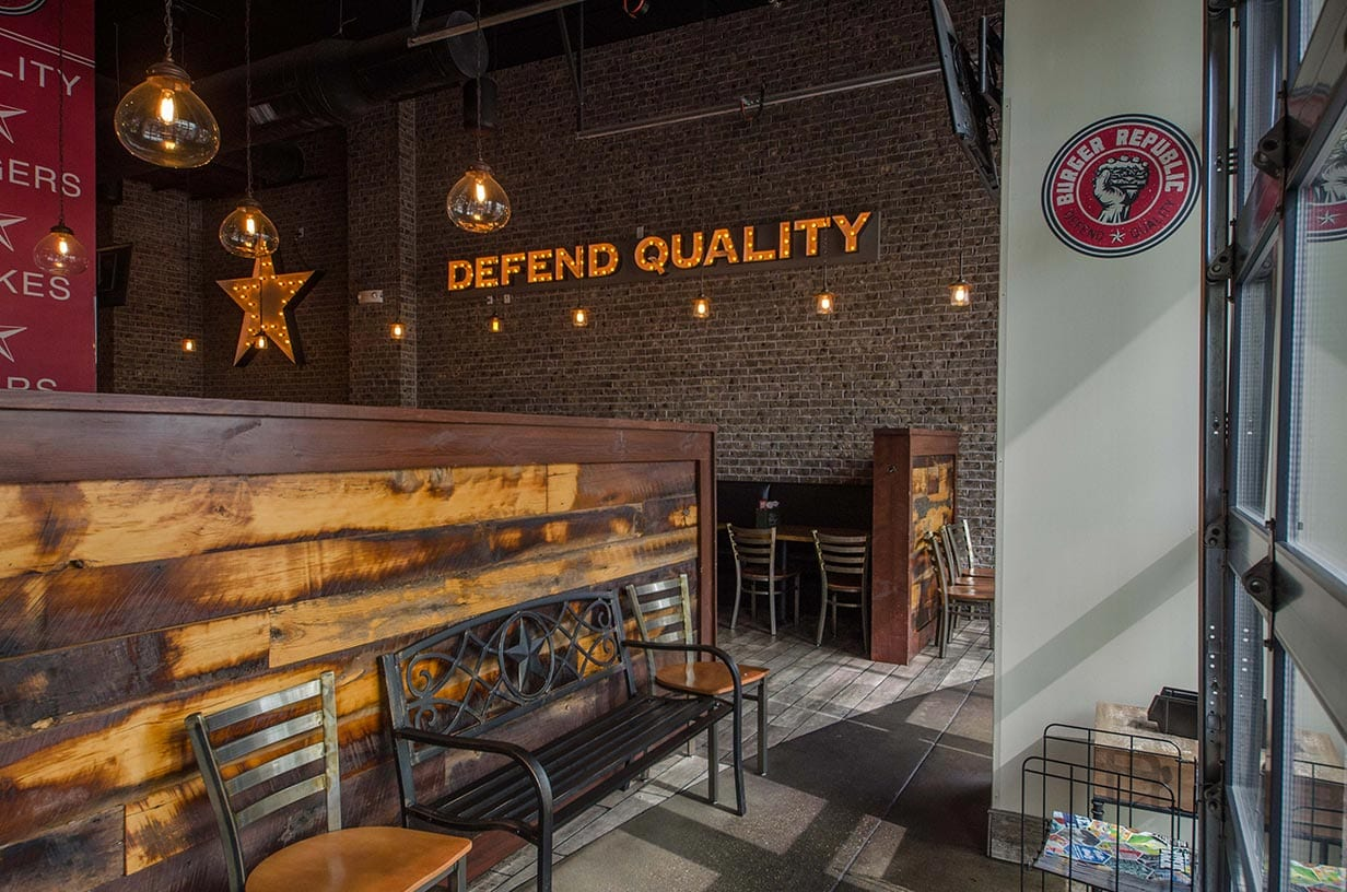 Defend Quality for burgers